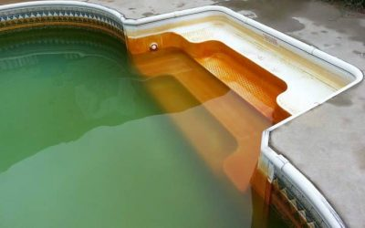 How to Remove Iron Stains from Swimming Pools